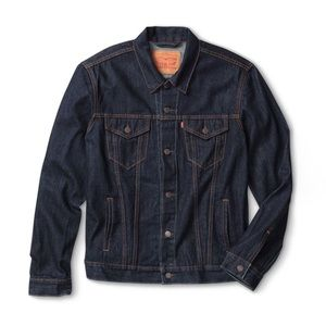 Levi's Jackets & Coats - Levi's Trucker Jacket Rinse Dark Denim Jean
